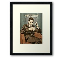 Wilosophy Poster Framed Print