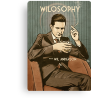 Wilosophy Poster Canvas Print