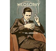 Wilosophy Poster Photographic Print