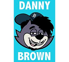 """Danny Brown """"Pitchfork Frame's Cat""""  Photographic Print"""