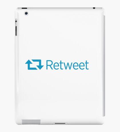 Retweet iPad Case/Skin