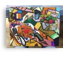 Pancake Breakfast: Picasso Style Canvas Print