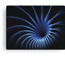 BLUE CAPTURE Canvas Print