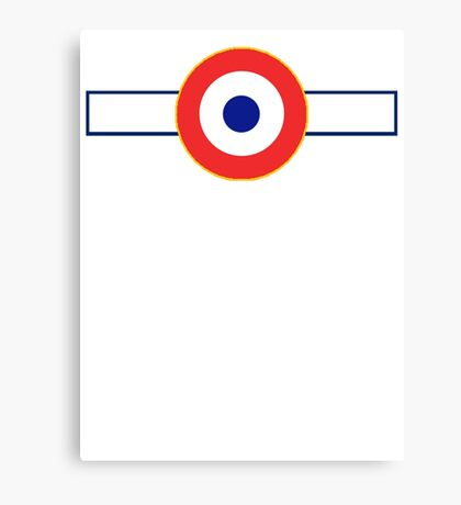 Free French Air Force Insignia Canvas Print