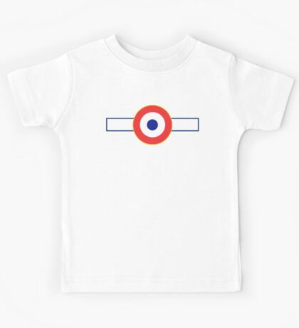 Free French Air Force Insignia Kids Tee