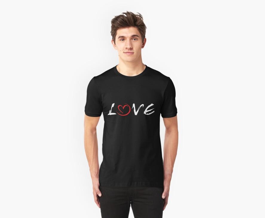 LOVE (for dark apparel) by Bobbie Sandlin