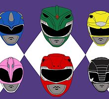Mighty Morphin' Power Rangers by Erin Muldoon