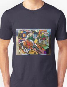 Pancake Breakfast: Picasso Style Unisex T-Shirt