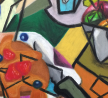 Pancake Breakfast: Picasso Style Sticker