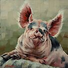 Personality Pig by Margaret Stockdale