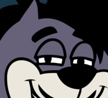 """Danny Brown """"Pitchfork Frame's Cat"""" on Black Sticker"""