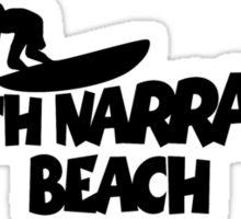 North Narrabeen Beach Surfing Sticker