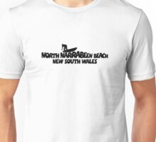 North Narrabeen Beach Surfing Unisex T-Shirt