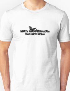 North Narrabeen Beach Surfing T-Shirt
