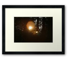 And God made the sun, to shine upon the earth.... Framed Print
