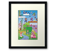 Nintendo - Mario 2 Framed Print
