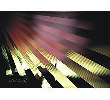 UV RAYS Photographic Print