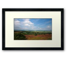 Suie Hill looking over Aberdeenshire Framed Print