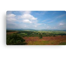 Suie Hill looking over Aberdeenshire Canvas Print