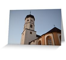 German Architecture Greeting Card