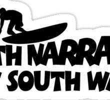 North Narrabeen Surfing Sticker