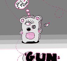 Guns Shoot Bullets by Jo Conlon