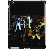 Times Square from Afar iPad Case/Skin