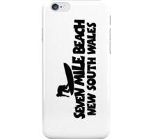 Seven Mile Beach Surfing iPhone Case/Skin