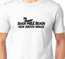 Seven Mile Beach Surfing Unisex T-Shirt