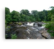 Aysgarth falls, the top end! Canvas Print