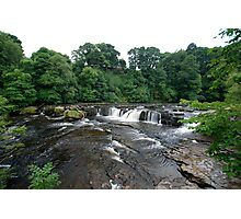 Aysgarth falls, the top end! Photographic Print