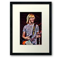 Kenny Wayne Shepherd Framed Print