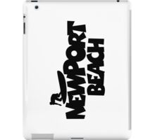 Newport Beach Surfing iPad Case/Skin