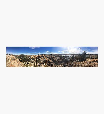 The Dells in Prescott, AZ Photographic Print