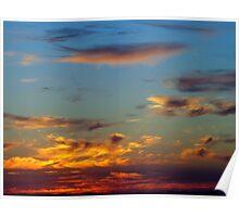 Sky Over Puget Sound Poster