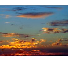 Sky Over Puget Sound Photographic Print