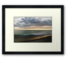 Green Waters of the Gulf of Mexico Framed Print