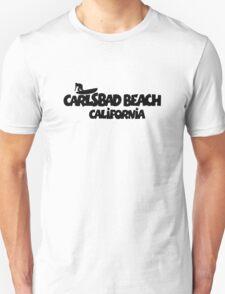 Carlsbad Beach Surfing T-Shirt