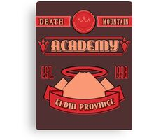 Legend of Zelda - Death Mountain Academy Canvas Print