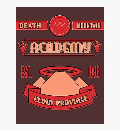 Legend of Zelda - Death Mountain Academy Photographic Print
