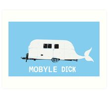 Mobyle-Dick Art Print