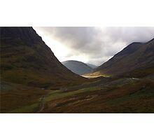 Glen Coe, Scotland Photographic Print