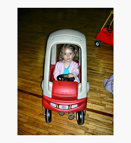 No frills driver Photographic Print