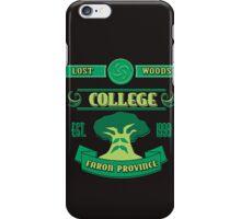 Legend of Zelda - Lost Woods College  iPhone Case/Skin