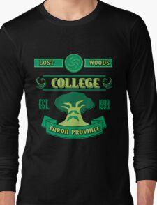 Legend of Zelda - Lost Woods College  Long Sleeve T-Shirt