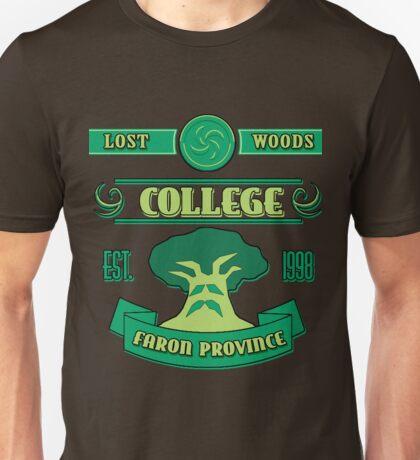 Legend of Zelda - Lost Woods College  Unisex T-Shirt