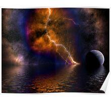 Nebula Storm Poster