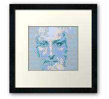 Biblical art Framed Print