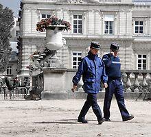 Strolling Gendarme by Caprice Sobels