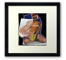 Male(s) Large Colour Panel Collage Framed Print